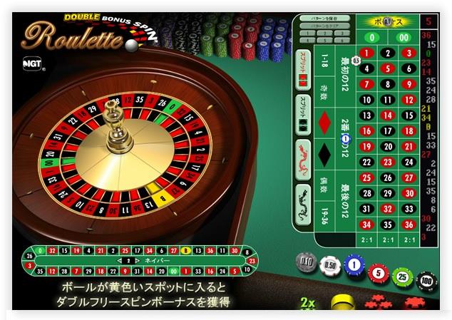 Double Bonus Spin Roulette – IGT Online Roulette
