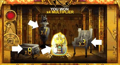 cleopatraのフリースピンゲット2